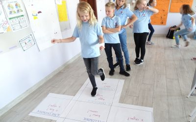 Hopscotch in the classroom